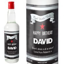 Classic Black & Silver Vodka with Gift Box